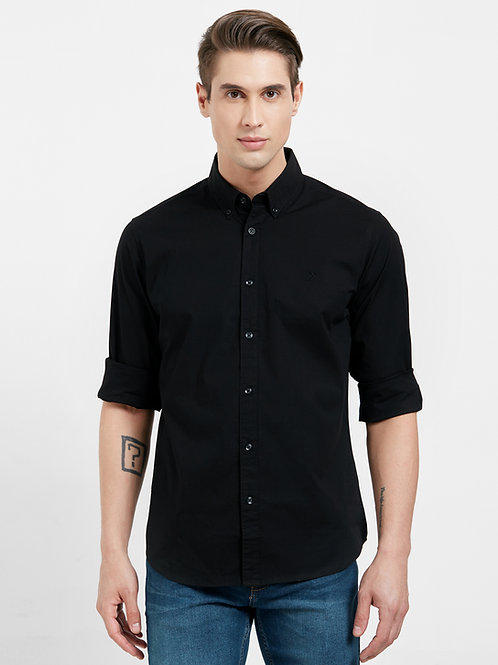 Casual Slim Fit Shirt (Premium Stretch Cotton)