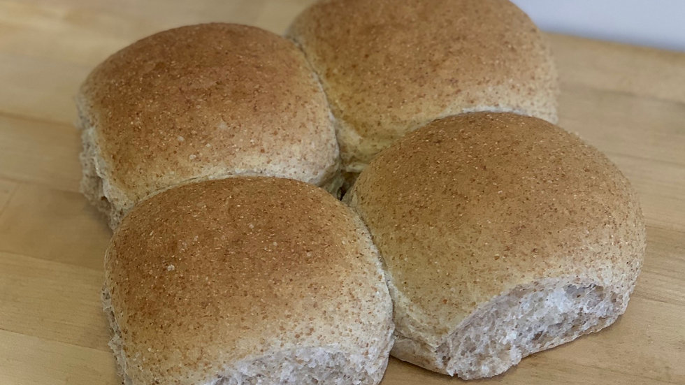 Pack 4x Wholemeal Rolls