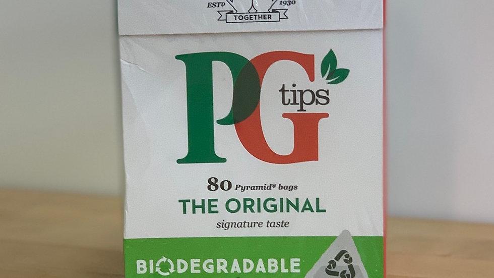 80 bags of PG Tips Tea