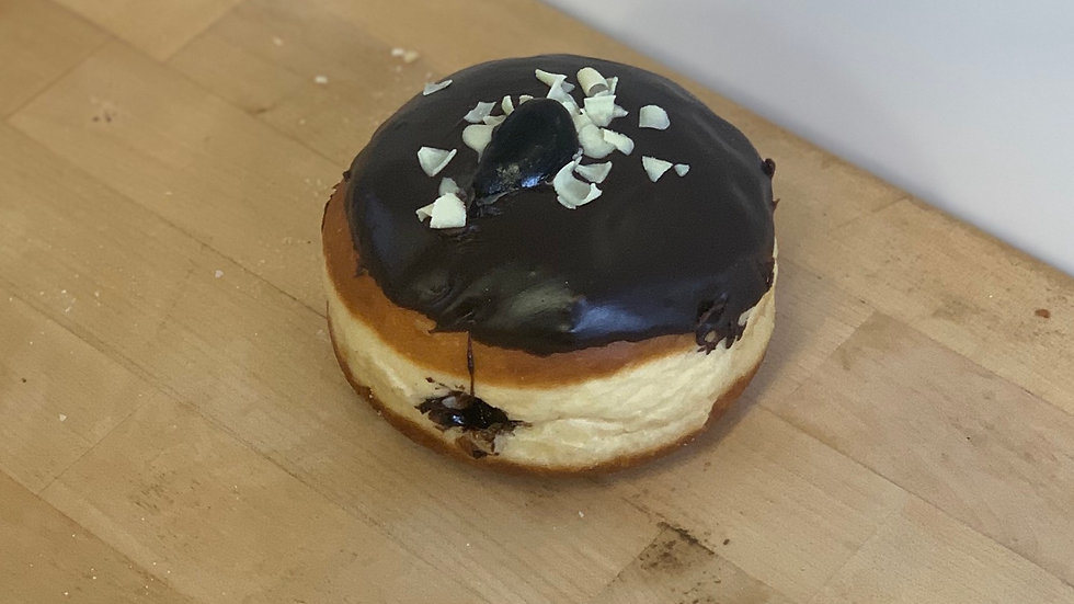 Chocolate filled Donut
