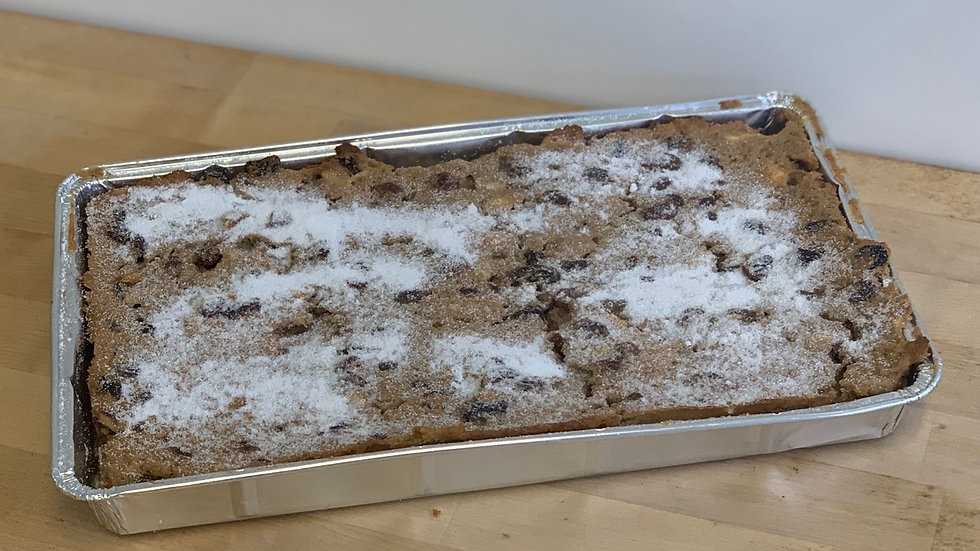 Bread Pudding TrayBake