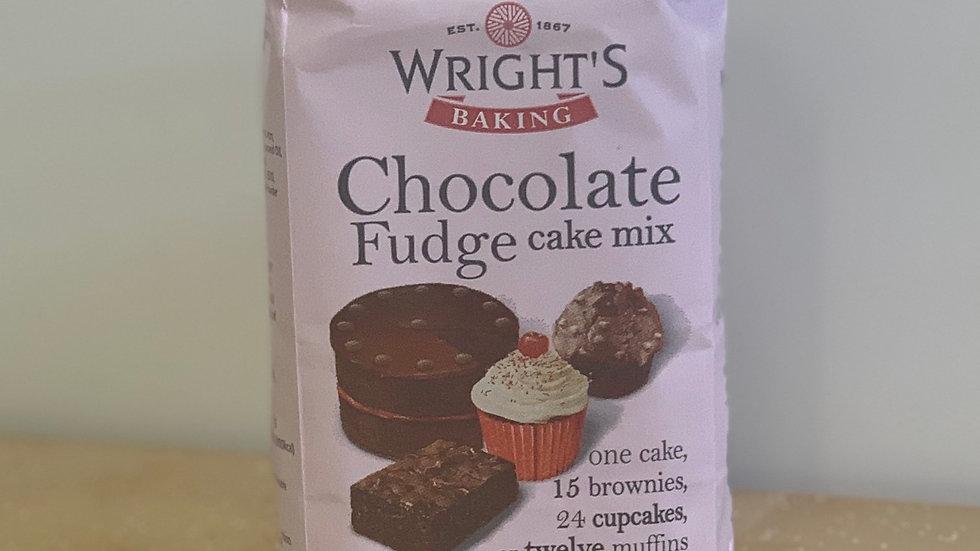 500g Chocolate Fudge Cake Mix