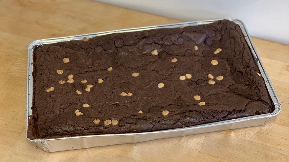 Brookie Full Size Tray Bake