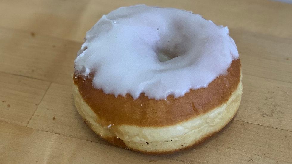White Iced Ring Donut