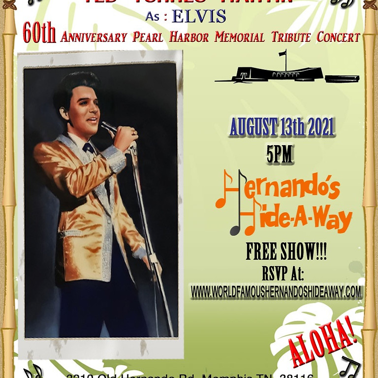 Ted Torres Martin as Elvis