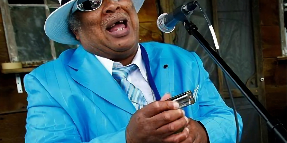 Blind Mississippi Morris presented by Memphis Blues Society