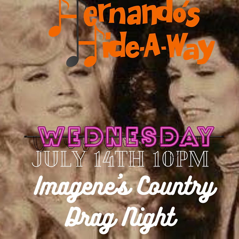 Classic Country  Drag Revue with Imagene Azagraber