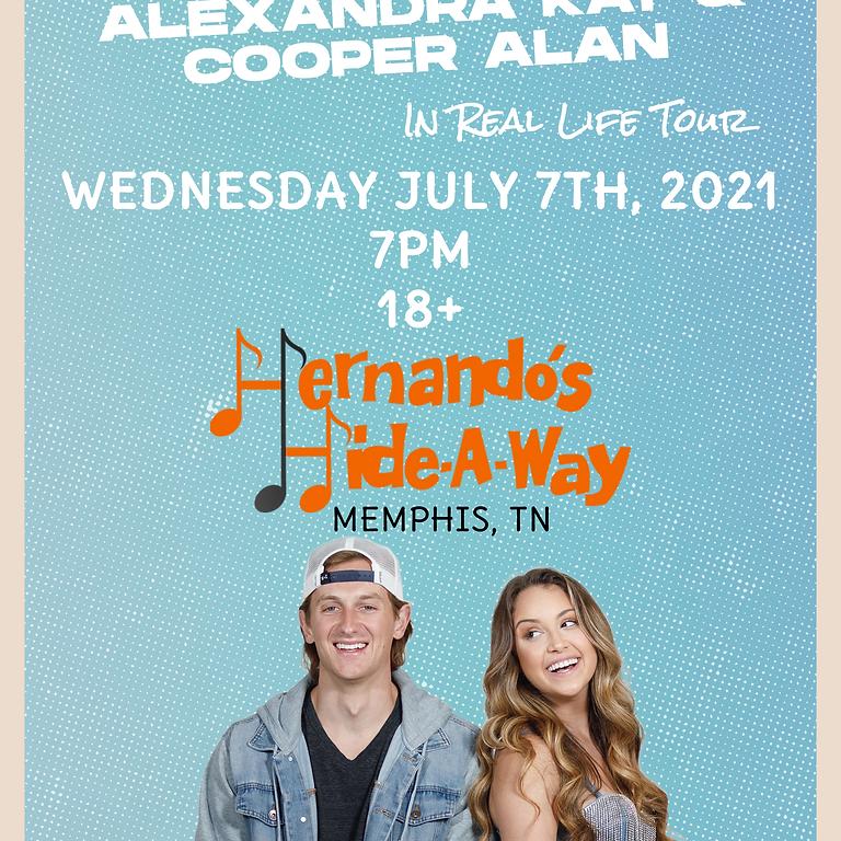 Alexandra Kay & Cooper Alan - In Real Life Tour - Memphis