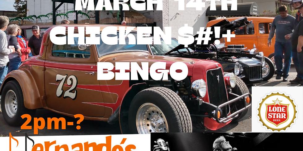 HOT ROD HANGOUT CHICKEN $#!+ BINGO