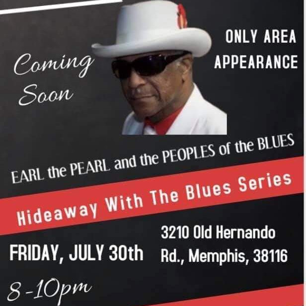 Hide-A-Way with the Blues feat. Earl the Pearl presented by the Memphis Blues Society