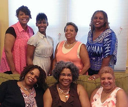 African American women book club in Washington, D.C. reads Eddie Mark's award-winning novel The Garden of Unfortunate Souls
