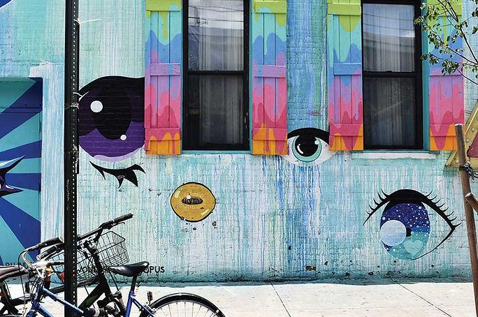 Eyes Graffiti