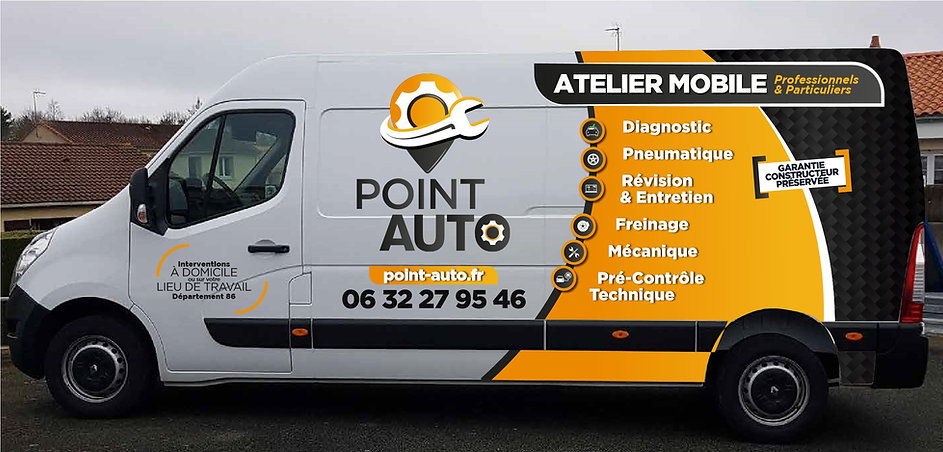 Camion-Point-Auto-Atelier mobile