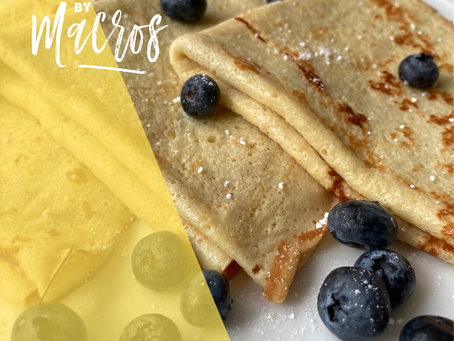 Lemon Protein Crepes