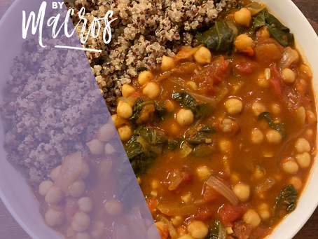 Quick Chickpea Curry (Vegan)