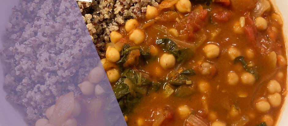 Quick Chickpea Curry (Vegan)