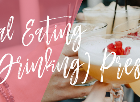 Social Eating (& Drinking) Pressure