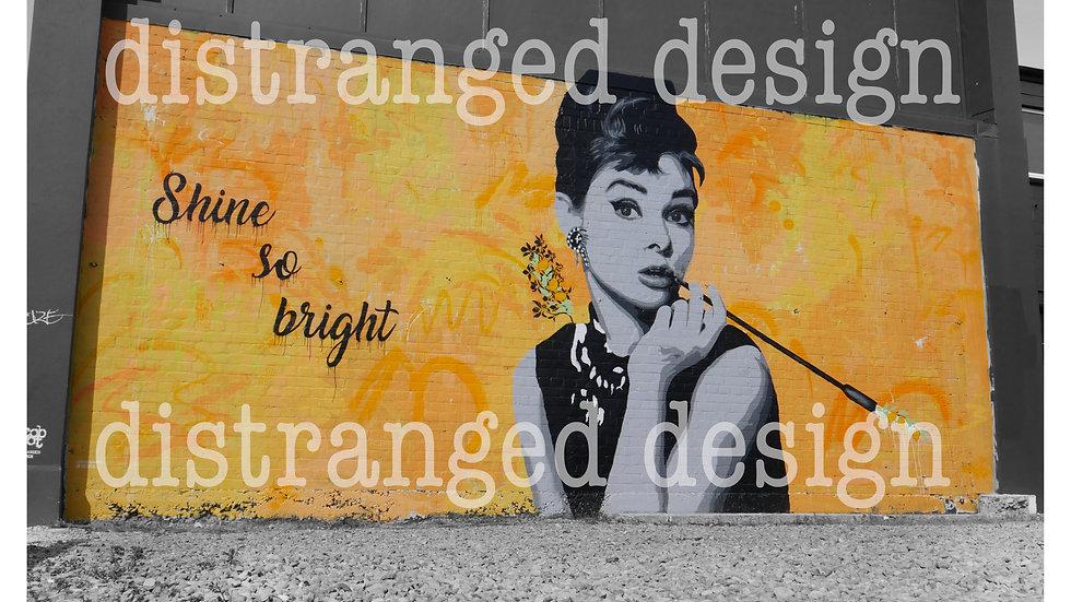 Shine So bright Mural Print