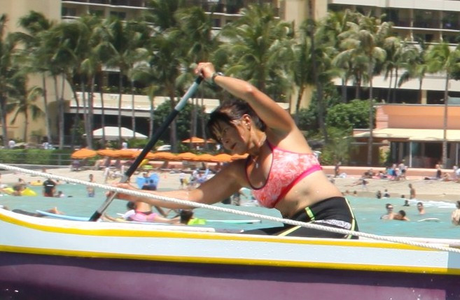 Me in Canoe-Hawaii