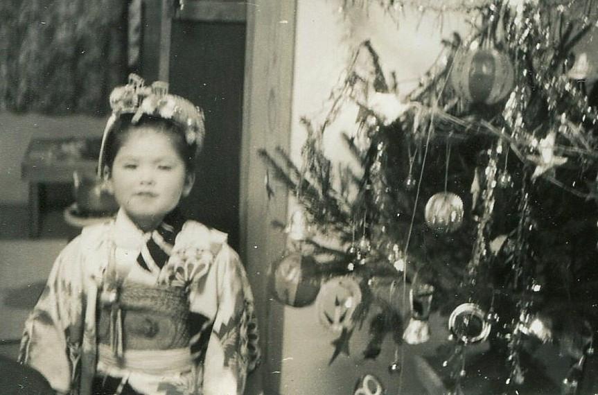 Me in Kimono-a Christmas Day
