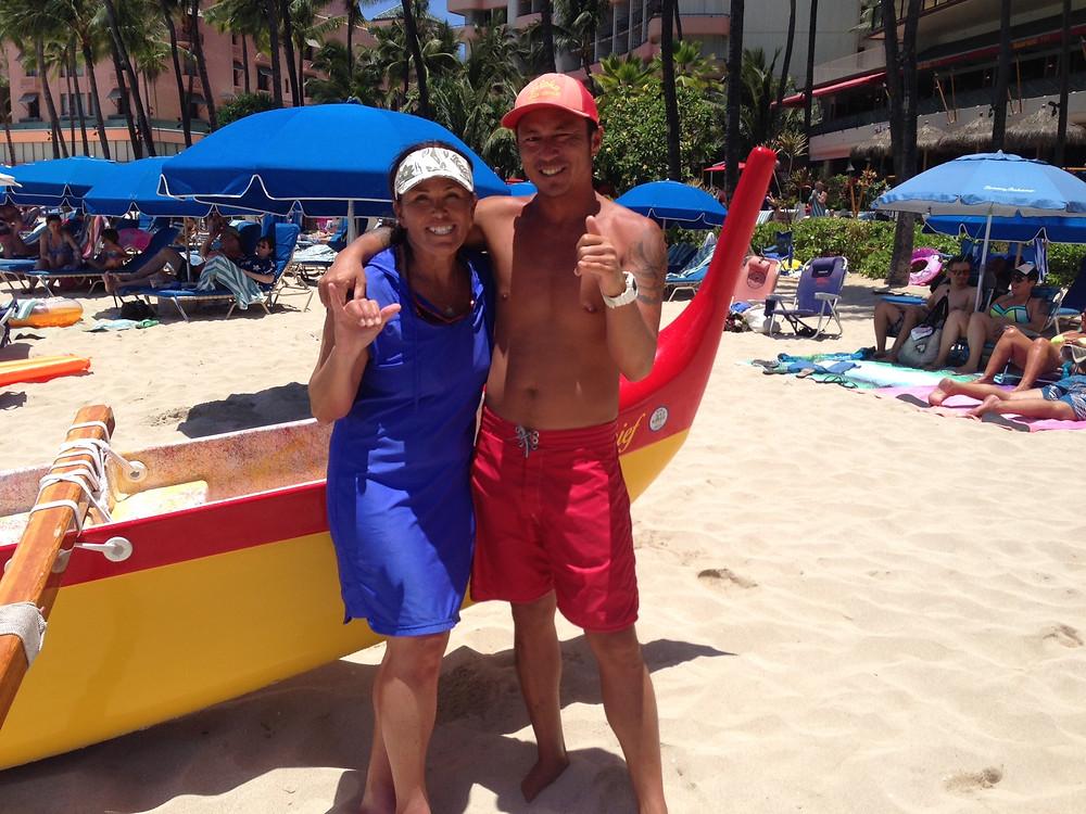 Josh in Hawaii