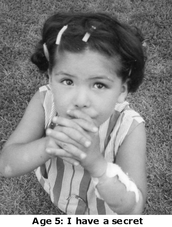 Age 5: I have a secret