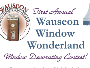 Wauseon Window Wonderland Winners Announced