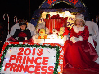 2016 Wauseon Christmas Parade Prince and Princess Entry Forms Available