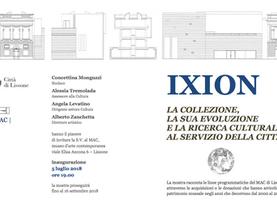 """""""IXION - La collezione, la sua evoluzione e la ricerca culturale al servizio della città"""""""