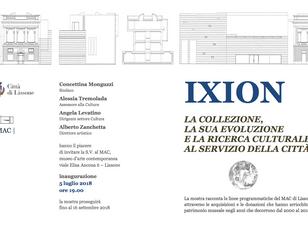 """""""IXION - La collezione, la sua evoluzione e la ricerca culturale al servizio della città"""","""