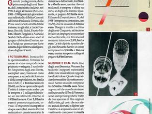 ARTE Cairo Editore di Aprile, Speciale dedicato a Luigi Veronesi