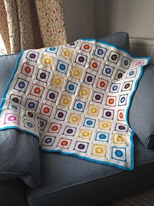 Diagonal Dots blanket