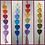 Thumbnail: Boho Heart hangers