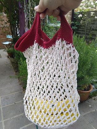 Cotton Market Bags - slot handle