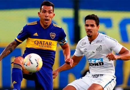 Copa Libertadores: Boca busca la final frente al Santos en Brasil