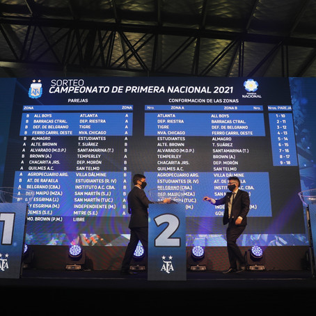 San Martín ya conoce sus rivales para la Primera Nacional