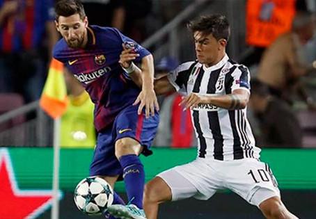 Con Dybala y sin Cristiano, la Juventus recibe al Barcelona