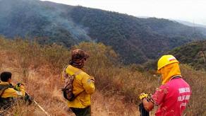 Controlan los focos de calor en la zona del Cerro Quico