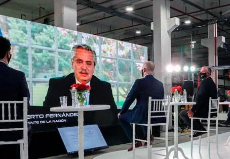"""Alberto Fernández: """"Necesitamos que los empresarios confíen en el país"""""""