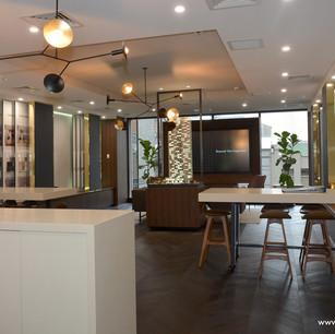 Bensons sales suite in Melbourne