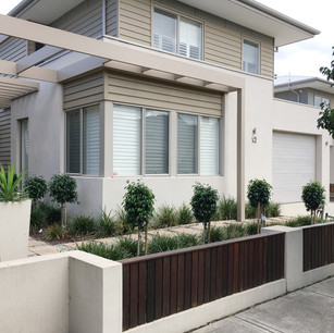 Modern double storey home