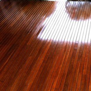 Glossy deck