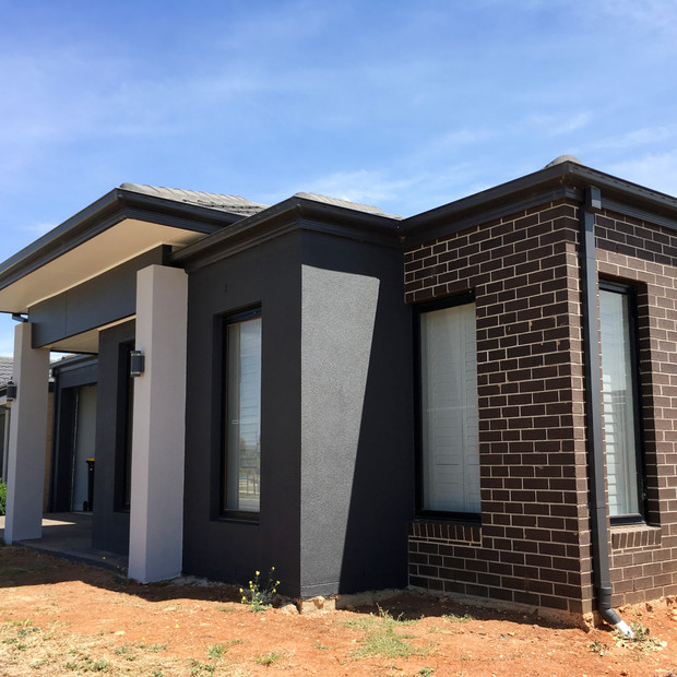 New home render painting