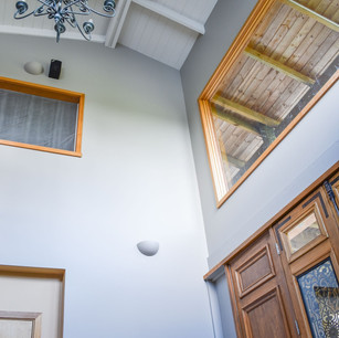Double height entry