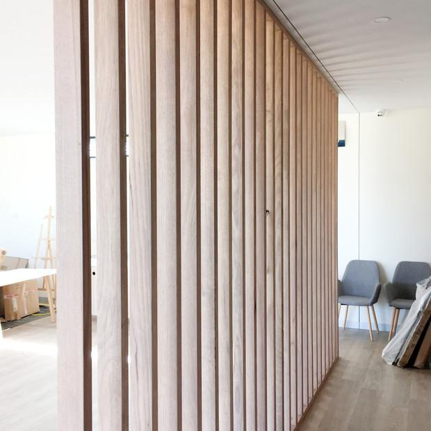 Timber screen