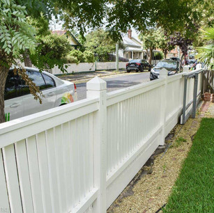 Picket fence repaint