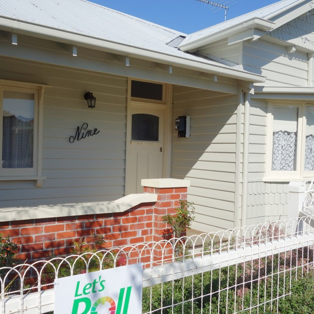 Weatherboard exterior repaint