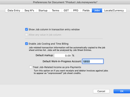 How to track job and project?