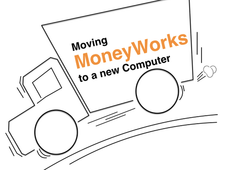 Moving your MoneyWorks to a new Computer