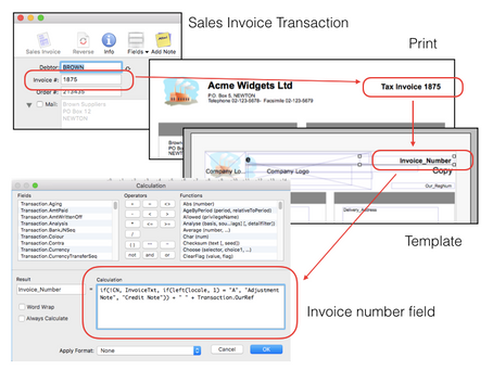 Invoice Reference Number